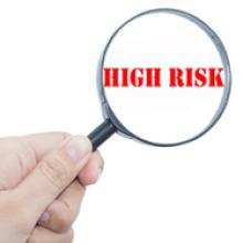 High risk magnifying glass