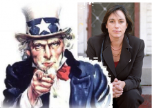 Uncle Sam and Karen DeSalvo